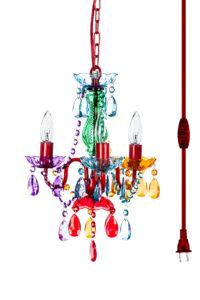 Crystal chandeliers gypsy color sku gymimc plug in gypsy chandelier aloadofball Image collections