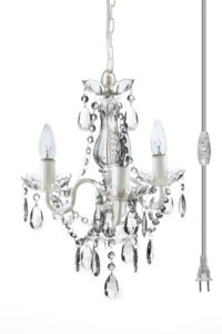 Crystal chandeliers gypsy color sku gymicl plug in crystal chandelier aloadofball Image collections
